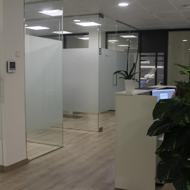 Interior de la clínica- Gabinetes